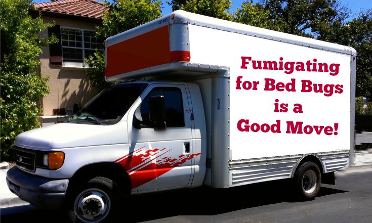 Bed Bug Fumigate Moving Trucks