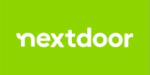 Nextdoor graphic links to Thrasher Termite and Pest Control reviews